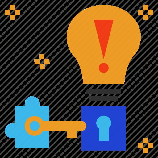 key, problem, solution, solve, solving icon