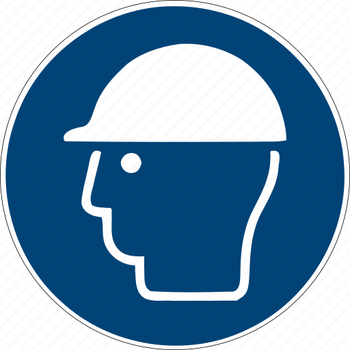 helmet, iso, man, manager, profile, user, worker icon