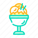 ice, cream, mango, home, food, tropical