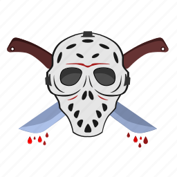 blade, killer, knife, maniac, mask, sword icon