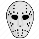 face, horrow, killer, maniac, mask icon