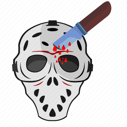 blood, drops, head, killer, knife, maniac icon