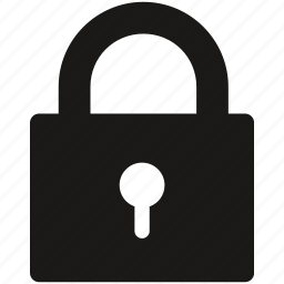 lock, password, privacy, secure icon