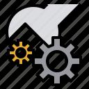 fix, maintenance, manufacturing, production, progression, skill, standardize icon