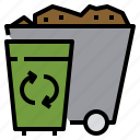 alternative, elimination, energy, power, product, recycle, waste icon