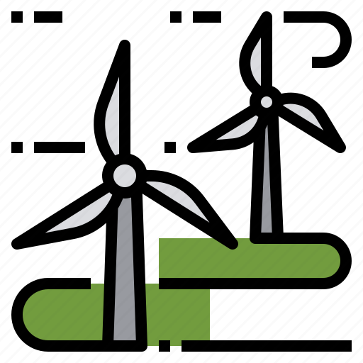 clean, energy, farm, power, wind, windmill icon
