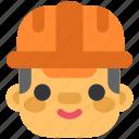 factory, helmet, manufacturing, safety, worker, working, workman