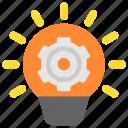 bulb, customization, factory, idea, installation, manufacturing, tuning icon