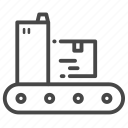 factory, manufacture, manufacturing, process, production icon