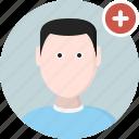 add, men, user, man, avatar