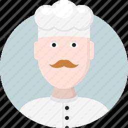 avatar, chef, man, men icon