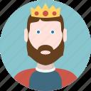 king, men, avatar, man