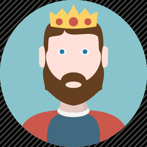 avatar, king, man, men icon