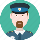 men, police, avatar, man