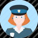 woman, police, avatar, women