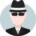 person, men, avatar, spy