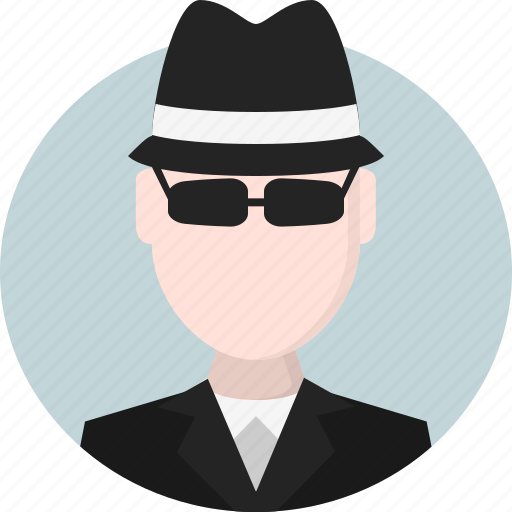 Avatar, men, person, spy icon - Download on Iconfinder