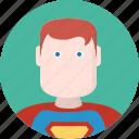 men, hero, avatar, superman