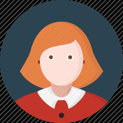 avatar, lady, women icon