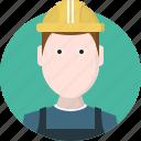 person, men, worker, avatar