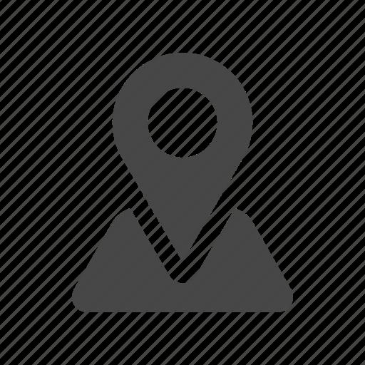 coordinates, location, map, pin icon