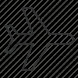 airplane, airport, airship, transport, transportation, travel icon