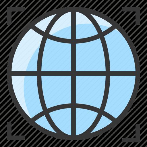 direction, globe, location, map, navigation, pin icon