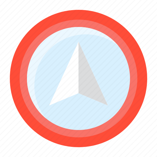 direction, location, map, navigation, pin icon
