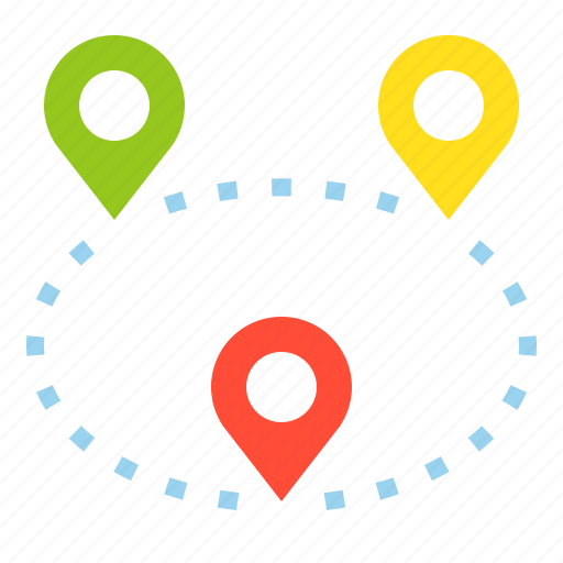 Direction, location, map, navigation, pin icon - Download on Iconfinder