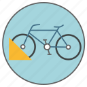 bicycle, bike, bikeways, parking, transport, transportation, vehicle icon