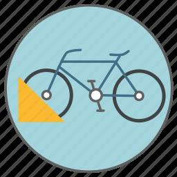 bicycle, bike, bikeways, parking, transport, transportation, vehicle icon