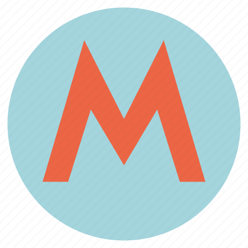 city, metro station, sub, subway station, transport, tube, underground icon
