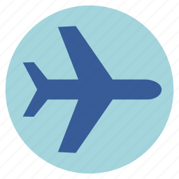 airplane, airport, flight, fly, jet, transport, vehicle icon