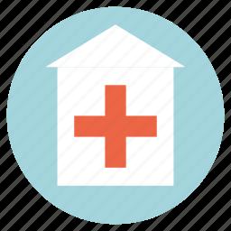 city, clinic, doctor, hospital icon