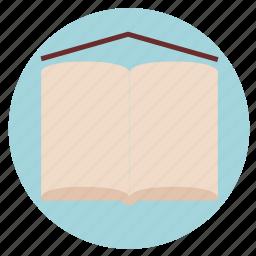 book, education, knowledge, library, school, schoolboy, study icon