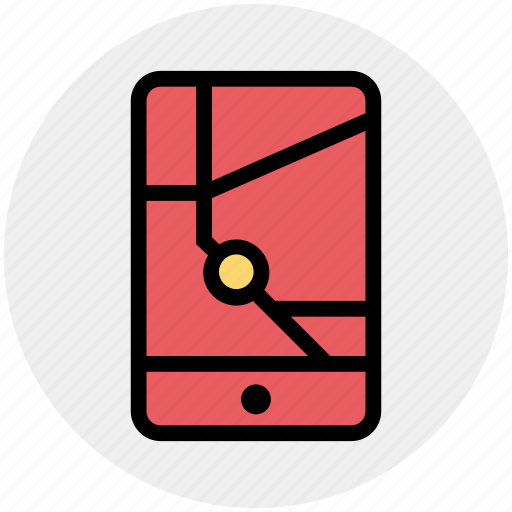 gps, location, map, mobile, navigation, pointer, smartphone icon