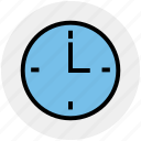 clock, date, optimization, time, time optimization, wait, watch icon