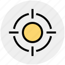 app, aspirations, essential, goal, gun, object, target