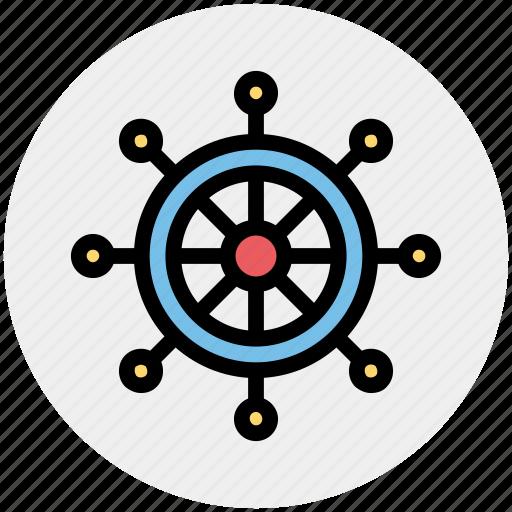 boat, boat handle, handle, sail, ship, ship handle, wheel icon