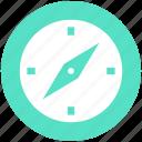 compass, direction, gps, location, navigation, safari, too icon