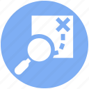 direction, find, location, magnifier, magnifying glass, navigation, road direction, search