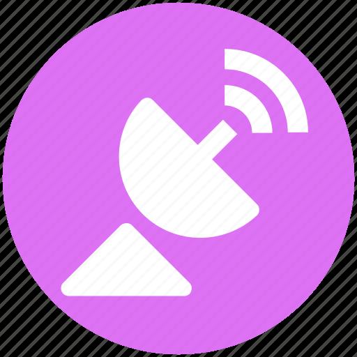 antenna, bluetooth, cable, dish, dish aerial, dish antenna, satellite icon