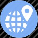 pin, global, world globe, earth, exchanger, world, international