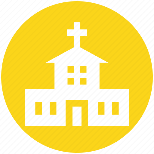 architecture, building, chapel, church, map, place, religion icon