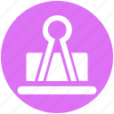 attachment, binder clip, bulldog clip, clamp, grip clip, office clip, paper clip icon