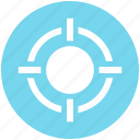 app, aspirations, essential, goal, gun, object, target icon