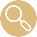 desktop, focus, lens, magnifier, optimization, search, zoom icon