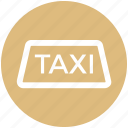 car, delivery, taxi, taxi sign, transport, vehicle