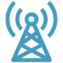 communication, signals, tower, wifi antenna, wifi signals, wifi tower, wireless antenna icon