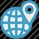 earth, exchanger, global, international, navigation, world, world globe icon